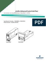 ACU Plus Controller UM1M820BNA