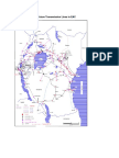 Existing and Future Transmission Lines in EAC