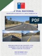 3. Red Vial Nacional Dimensionamiento y Características Año 2014