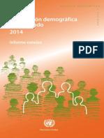 ONU - Informe Demográfico 2014