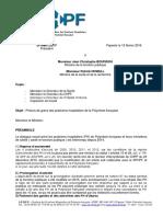 SPHPF - Préavis Grève 12 02 2016