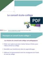 Conseil Ecole College