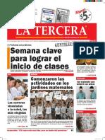 Diario La Tercera 15 02 2016