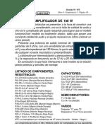 075-Amplificador de 100w