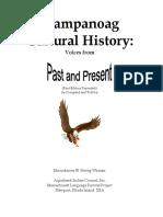 Wampanoag Cultural History
