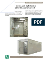 metal enclosed switchgear for airport