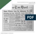 The Daily Tar Heel Fri Jul 10 1951 (No Admit Other Grad School p1)
