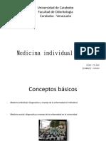 Medicina Individual y Social