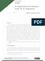 Tortti, María Cristina - La Nueva Izquierda en La Historia Reciente Argentina