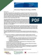 Opioid Overdose Response Strategy Final