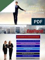 Salarios y Estrategias Para Los No Deducibles 2016