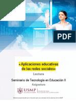 Redes Sociales - Educativas