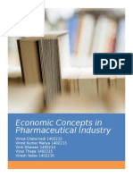 Economics of the Pharmaceutical Industry