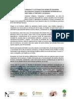 Mensaje Al Papa Francisco y a Los Pueblos Del Mundo 15-02