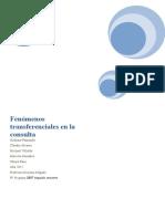 Fenómenos Transferenciales en La Consulta - Copia (2)Fff