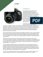 Canon Recensioni e Guida
