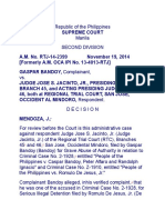 Gaspar vs. Judge Jacinto