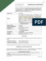 Informe Fondo Paz - Sístole