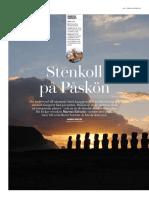 Påskön reportage Dagens Industri, Di Weekend