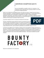 B0unty Factory, une plateforme européenne pour la recherche de failles