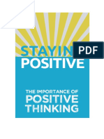 Staying Positive Edit