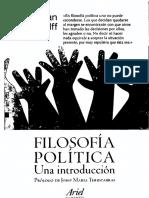 Wolff Jonathan - Filosofia Politica Una Introduccion