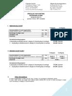 Pricelist ZBP (Hunting Club) 2015-2016 Ogólny