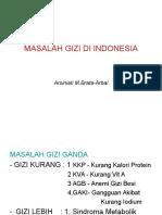 MASALAH GIZIGAKI