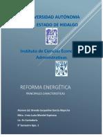 Principales Caracteristicas de La Reforma Energetica (1)
