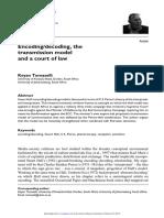 Tomaselli (2016) Encoding-Decoding the Transmission Model