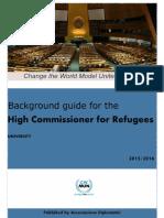 UNHCR Background guide Rotaract MUN Change the World New York