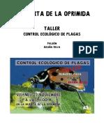 Taller Control Plagas Pulgon y Araña Roja