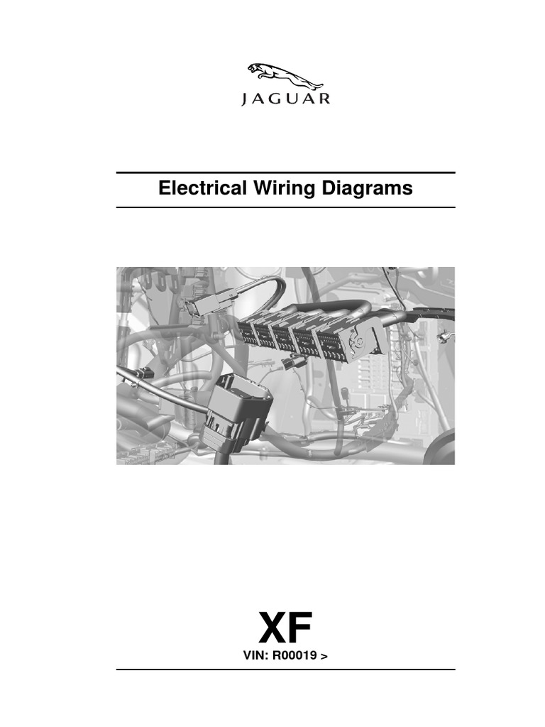 electrical wiring diagram for jaguar xf 250 | electrical connector | motor  vehicle  scribd