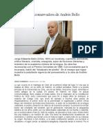 La República Conservadora de Andrés Bello