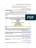 LEYDEDESARROLLOSOCIALPARAELDISTRITOFEDERAL