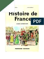 Histoire de France Cours Elementaire Grimal Moreau 1962