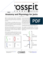 Anatomy and Physiology for Jocks