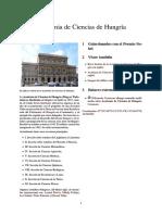Academia de Ciencias de Hungría