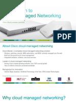 Cisco Me Raki Overview