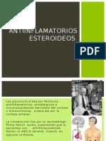 Antinflamatorios esteroideos