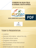 Durban Field School 2016