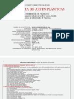 PROGRAMA ARTES PLÁSTICAS/VISUALES UNIPAMPLONA