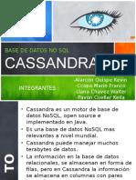 Cassandra Presentacion Base de datos no sql