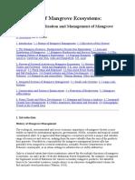 10700 Mangrove Ecosystems