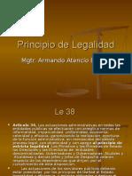 Principio de Legalidad PPT