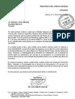 Carta, Administracion