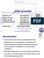 Hybrid Inverter Presentaation MNS UET