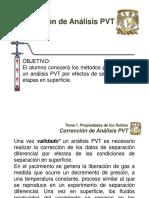 Corrección de Análisis PVT