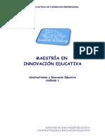 Constructivismo e Inovacion