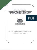 Panduan Teknis UN 2015 2016